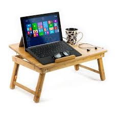 Student Lap Desk Walmart by Aleratec Bamboo Laptop Stand Lap Desk For Devices Up To 15