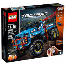 Lego 42070 6x6 All Terrain Tow Truck, Toys & Games, Bricks ...