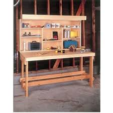 woodworking project paper plan to build simple workbench plan no 866