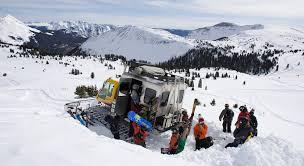 snow cat snowcat skiing purgatory resort