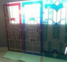 glasscheibe für glastür bleiglas zimmertür einsatz