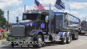MN Police Officers Tribute The Thin Blue Line - YouTube Graniterock Rockblog Groomthefutureoftrucking Rihmkwthhostrucksareforgirlsevent Reliable Carriers Rock Bottom Truck Walk Around Youtube Jip Trucking Co 5 Photos Cargo Freight Company 2145 Stagetruck Transport For Concerts Shows And Exhibitions Big Rig Trucks To Your World Zemba Inc Zanesville Ohio Commercial Material Hauling Pink Power News Bob Dylan Never Ending Tour 2011 Rockn Roll Trucking Flickr Mn Police Officers Tribute The Thin Blue Line Langston Concrete