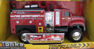 100 Tonka Fire Rescue Truck Buy MOTORIZED Tough Cab FIRE PUMPER TRUCK RED W LIGHTS