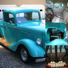 1935 Ford Truck $25k ALL Steel Body With Fiberglass Fenders 400cu ...