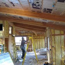 Insulating Cathedral Ceilings Rockwool by Alameda County Insulation Diamond Certified