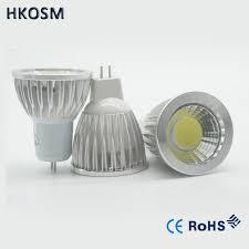 new high mr16 gu5 3 220v 12v 6w 9w 12w dimmable led cob spotlight