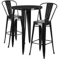 Flash Furniture Black 3-Piece Metal Round Outdoor Bar Height Bistro ... Homeofficedecoration Outdoor Bar Height Bistro Sets Rectangle Table Most Splendiferous Pub Industrial Stools 4339841 In By Hillsdale Fniture Loganville Ga Lannis Stylish Pub Tables And Chairs For You Blogbeen Paris Cast Alinum Are Not Counter Set Home Design Ideas Kitchen Interior 3 Piece Kitchen Table Set High Top Tyres2c 5pc Cinnamon Brown Hardwood Arlenes Agio Aas 14409 01915 Fair Oaks 3pc Balcony Tall Nantucket 5piece At Gardnerwhite Wonderful 18 Belham Living Wrought Iron