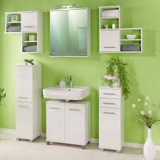 2 türiger bad spiegelschrank in weiß amassa