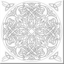 Awesome Celtic Designs Coloring Book Pages Adult With And Art