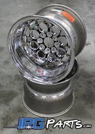 Weld Magnum Import Drag Wheels - 13x10 - 4x100 - 5