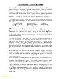 Image 18849 From Post Resume Summary Examples For Students With Professional Statement Also Without Experience In