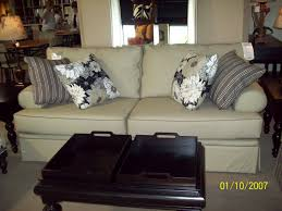 Restuffing Sofa Cushions Leicester by Broyhill Furniture Emily Sofa Queen Size Bed How Big