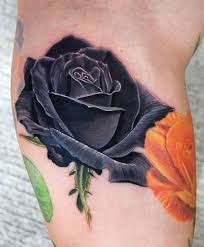 15 Black Rose Tattoo Meanings And Designs
