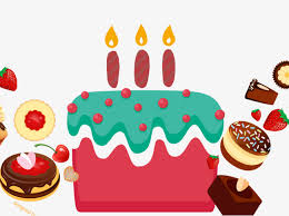 Birthday Cake Birthday Cake Candle Free PNG and PSD