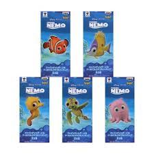Finding Nemo Bath Set by Finding Nemo Full Set Wcf Banpresto Nin Nin Game Com All