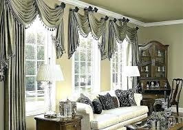 Curtain Decorating Ideas For Living Rooms Dining Room Draperies Curtains 8