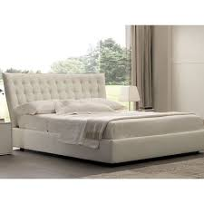 Black Leather Headboard Bed by Nora Genuine Leather Queen Storage Bed Made In Italy Available