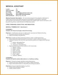Medical Laboratory Assistant Resume Objective Examples Entry Level