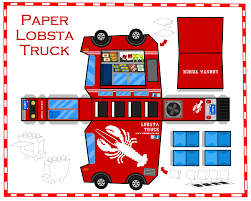 100 Trucks Paper Lobsta Truck Serving Lobster Rolls In California