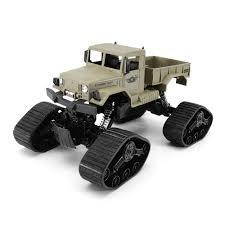 100 Rc Desert Truck Zegan Zgc1231ws 112 24g 4wd 40cm Rc Car Troops War Snow Beach