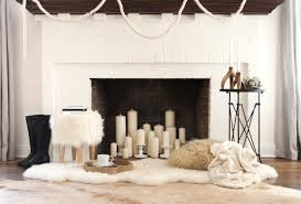 Living Room With Fireplace In The Middle by 12 Decorating Ideas For Nonworking Fireplace Design Living Room