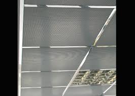cuisine faux plafond de bureau en dalles avec ou sans isolation