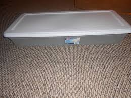 sterilite under bed storage containers 10 each west shore