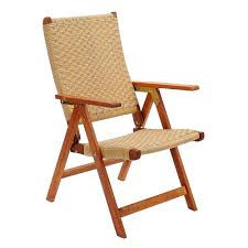 amazon com achla designs poly weave folding chair patio lawn