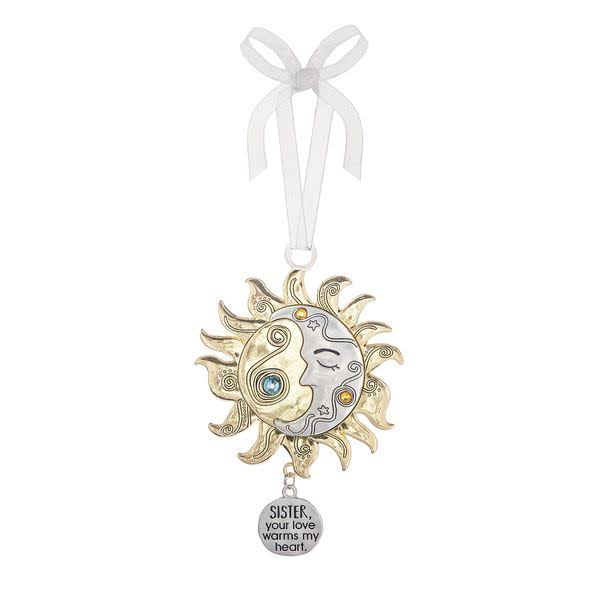 Ganz ER65154 Sister Sun and Moon Ornament