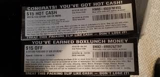 BoxLunch And Hot Cash Codes I Just Found And Don't Need For ... Free Boxlunch Use Them Had To Many Funkop Blocky Cars Online Promo Codes Main Event Coupons And Deals Discussion Boxlunch 15 Off 30 Coupon Imgur Mfasco Health Safety Code Harvest Festival Las Vegas Does Target Self Checkout Take Movie Ticket Discount Lularoe Disney Gallery Direct Outlet Boxlunch Money Since It Didnt Work On Scooby New Funko Pops Found Hot Topic Gamestop Autozone March 2019 T Shirt Grill Discount Laser Nation Loft 10 Auto Repair Loveland U Haul Propane Tank Promo Codes
