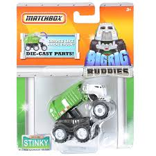 Matchbox Big Rig Buddies Stinky The Garbage Truck: Amazon.co.uk ... Matchbox Big Rig Buddies Scrap Yard Adventure Playset Review Real Workin Talking Garbage Truck Mr Dusty Toysrus Gift Idea Wvol Friction Powered Only 824 Amazoncom Sweep N Keep Toys Games Mattel Stinky The Kids Interactive Sing The Walmartcom Salvage Transformers Rescue Stinky Garbage Truck In Blyth Northumberland Gumtree Hobbies Tv Movie Character Find Target Best In Word 2017