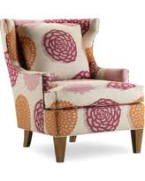 check out these bargains on burke accent print slipper chair