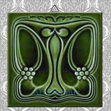 Ebay Decorative Wall Tiles by Art Nouveau Reproduction 3 X 6 Inches Ceramic Wall Tile 000034a