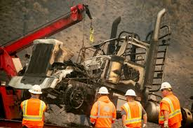 Big Rigs Abandoned As Wildfire Scorches California Freeway ... Vulcan Towing Recovery Home Facebook Tow Truck In Brooklyn Flips Onto Suv In Midtown Gasstation Crash Ktva 11 The Webbs Service Car Towing Anchorage Ak Ak And Diamond Wa 2019 Ram 1500 Lithia Cdjrf Of South Near Kenai Tows R Us Youtube Glacier City Gazette Qa With Girdwood Auto Turnagain A Do Not Let Breakup Be Your Echo