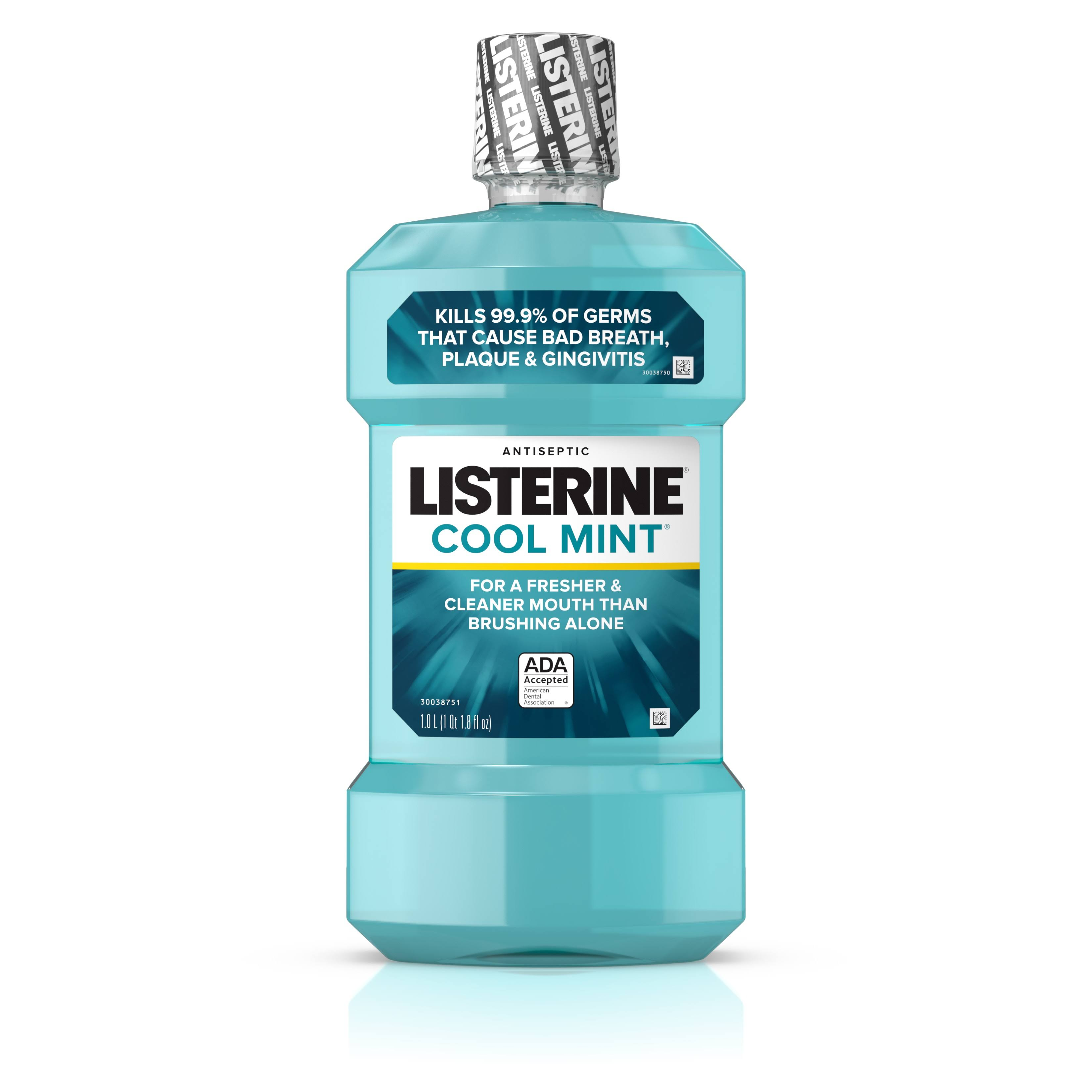 Listerine Antiseptic Mouthwash - Coolmint, 1l