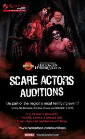 Halloween Horror Nights Auditions 2017 Orlando by Horrornightsupdaters Hnupdaters Twitter