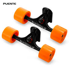 PUENTE 2pcs / Set Skateboard Wheels Truck With Skate Wheel Riser ... Longboard Skateboard Trucks Combo Set W 71mm Wheels 9675 Tandem Axle Double Wheeled Kit Set For Truck Longboard Big Boy Bigboy 180mm Trucks 70mm Wheels Bearings Combo Solid 180mm Paris V2 50 Black On Unknown Brand Deck Drop Through Trucks And Pneumatic Wheel Old School Skate Cruiser Stock Vector 226832461 Diy How To Assemble A Drop Through Deck The Store Amazoncom China Silver Alloy Metal Wheel Ultimate Beginners Guide To Loboarding Board