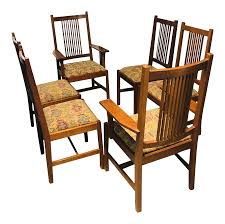 1990s Vintage Stickley Mission Spindle Back Dining Room Chairs - Set ... John Thomas Select Ding Mission Side Chair Fniture Barn Almanzo Barnwood Table Tapered Leg Black Base Amish Crafted Oak Room Set 1stopbedrooms Updating Style Chairs The Curators Collection Stickley Six Ellis A Original Sold Of 8 Arts Crafts 1905 Antique Craftsman Plans And With Urban Upholstered Rotmans Marbrisa Available At Jaxco