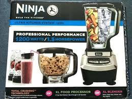 Ninja Blender 1200 Watt Reviews Accessories