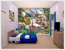 Cute Zoo Theme For Modern Kids Bedroom Decoration Ideas Your