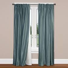 smartblock rod pocket insulating blackout curtain liner bed
