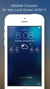 Weather Lock Screen Designer Plus Customize your Lock Screen