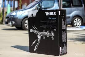 test thule raceway le porte vélo haut de gamme suédois weelz fr