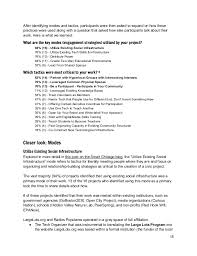 Experimental Modes Case Study Analysis