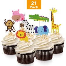 Monkey Jungle Birthday Party Baby Shower Animal Print Zoo Supplies
