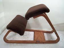 swedish kneeling chair uk vintage kneeling chair ebay