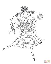 Pinkalicious Coloring Page Free To