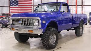 100 Chevy Truck 1970 C 10 Blue YouTube