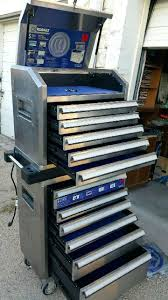 100 Used Truck Tool Boxes Cheap Kobalt Box For Sale In W X In D 9 Drawer Mobile Workbench