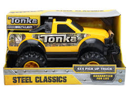 Tonka Steel Classic 4x4 Pick Up Truck - Goliath Games :Goliath Games Vintage 1956 Tonka Stepside Blue Pickup Truck 6100 Pclick Buy Tonka Truck Pick Up Silver Black 17 Plastic Pressed Toyota Made A Reallife And Its Blowing Our Childlike Pin By Curtis Frantz On Toys Pinterest Toy Toys And Trucks Tough Flipping A Dollar What Like To Drive Lifesize Yeah Season Set To Tour The Country With Banks Power Board Vintage 7 Long 198085 Ford Rollbar Chromedout Funrise Mighty Motorized Garbage Walmartcom